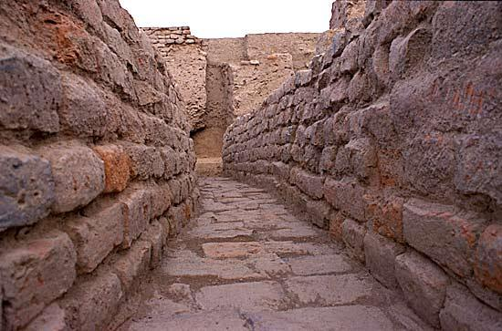 Ancient Indus City Drains