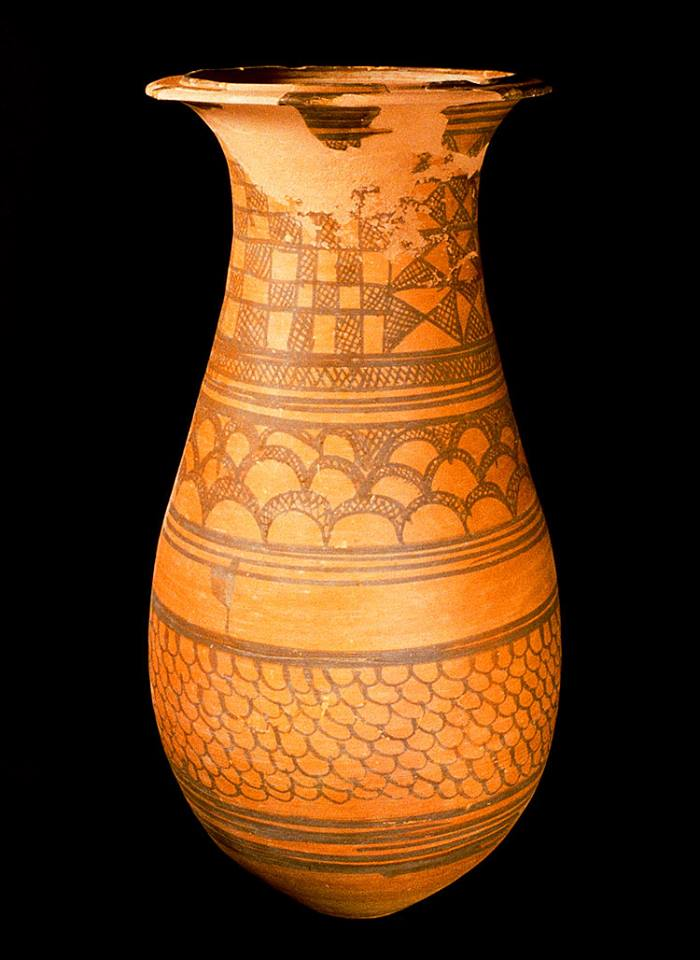 Painted Burial Pottery