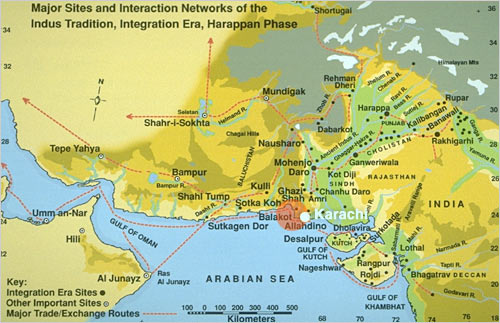 Harappa World Map.Intro To Around The Indus In 90 Slides 2