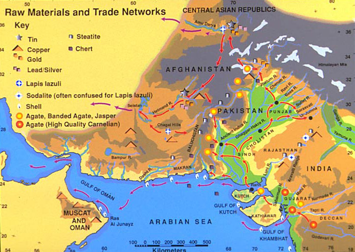 Harappa World Map.Why Did The Harappans Go To Such Extraordinary Lengths And Distance