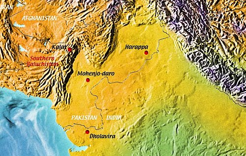 Map Of Southeastern Iran And Pakistan 1