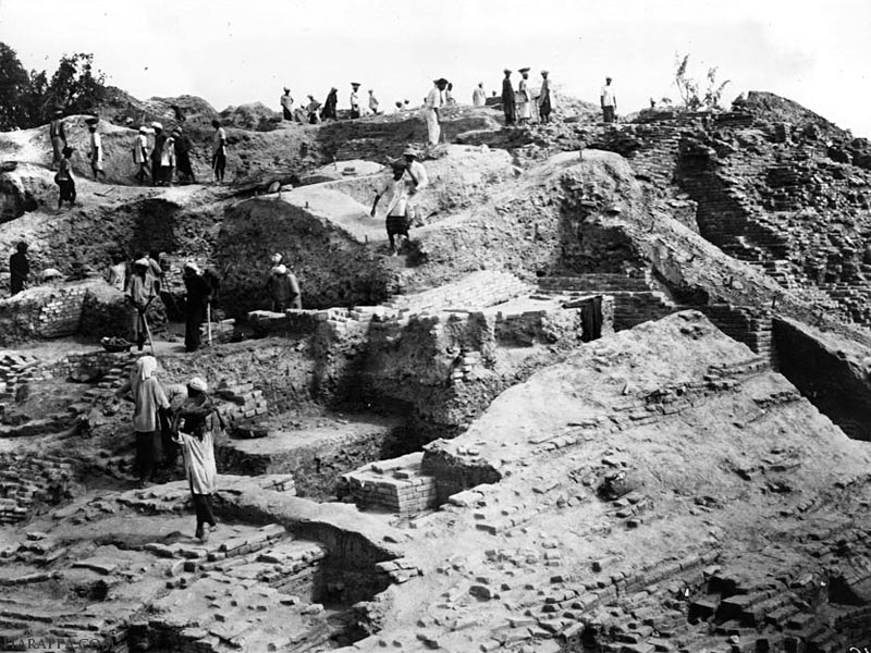 Mohenjo-daro Granary Excavations