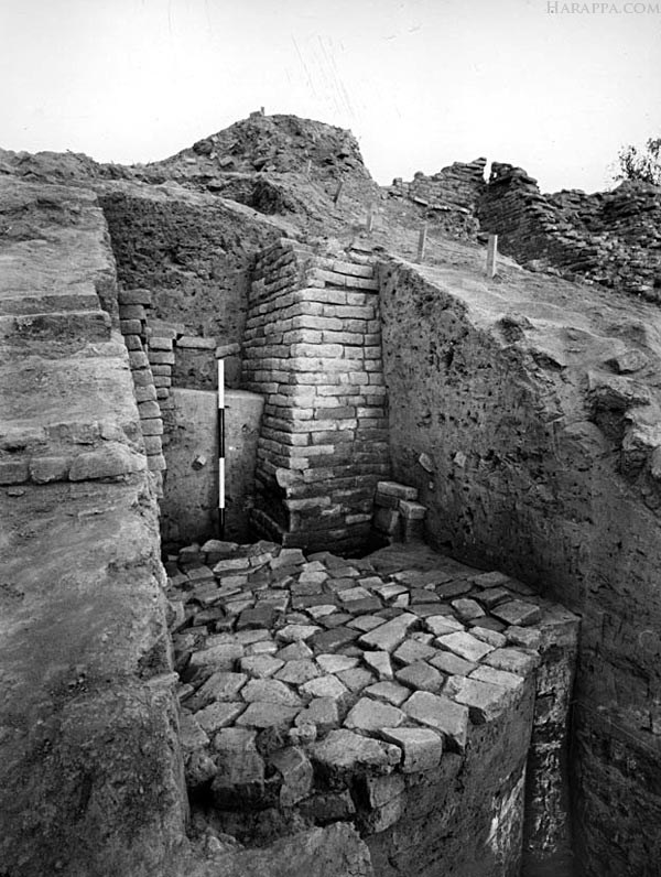 Mohenjo-daro Granary Walls and Voids