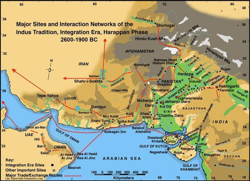 Interaction Networks of the Harappan Phase