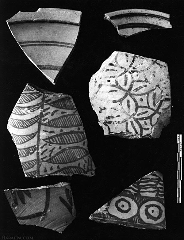 Pottery with Painted Design, Mohenjo-daro