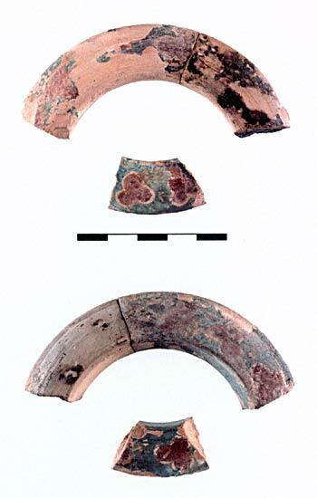 Harappa Terracotta bangle fragments