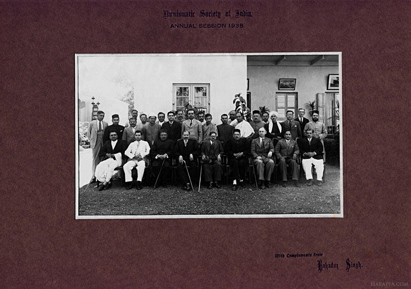 Numismatic Society of India Annual Session of 1938