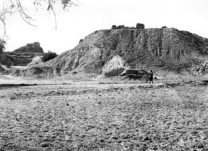 SD Area and Stupa Mound, Mohenjo-daro