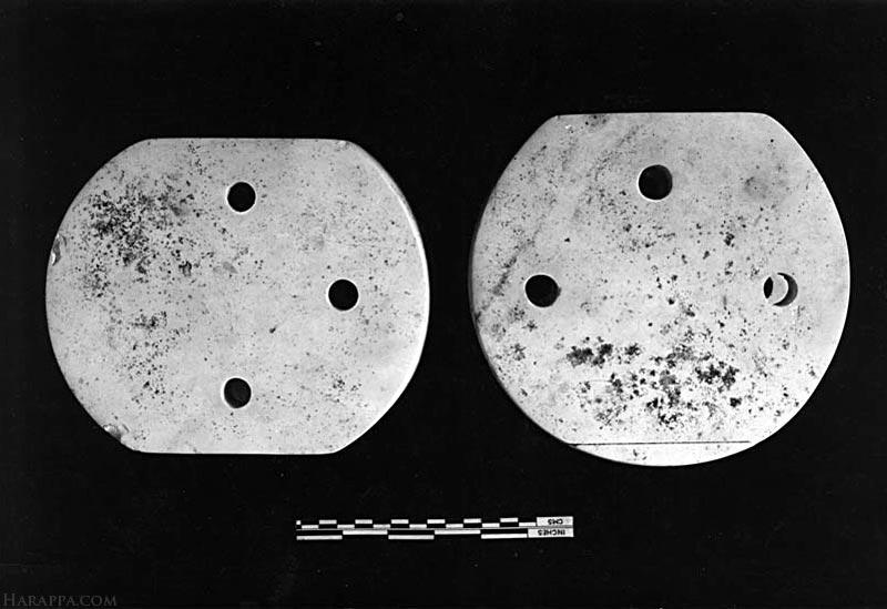 Perforated Stone Objects, Mohenjo-daro
