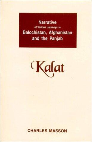 Charles Masson book on Balochistan, Afghanistan, and the Punjab