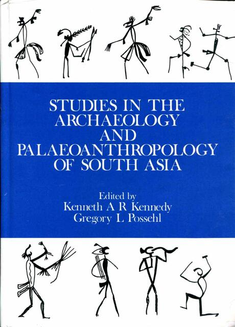 Studies in the Archaeology and Paleoanthropology of South Asia