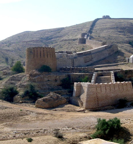 A photograph taken by Paolo Biagi of Ranikot Fort in Sindh (AMS Radiocarbon Date)