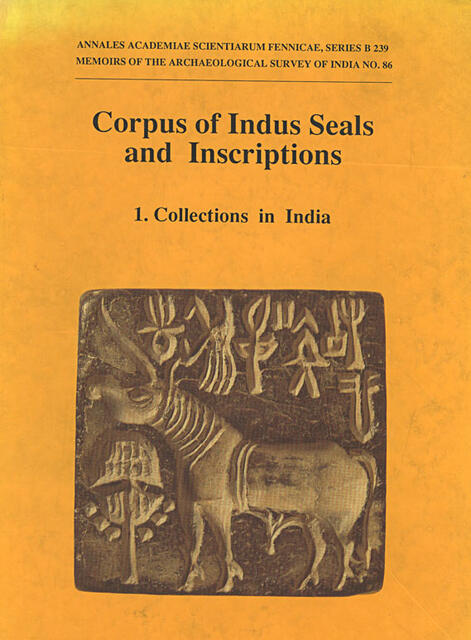 Corpus of Indus Seals and Inscriptions