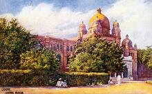 Lahore Museum, postcard from ca. 1905