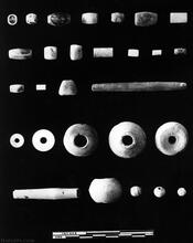 Stone and Terracotta Beads, Mohenjo-daro