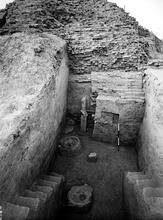 Western edge of REM Granary excavations, Mohenjo-daro