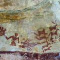 Rock paintings from Madhya Pradesh